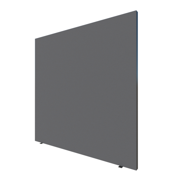 partition wall 150x150cm gray-black